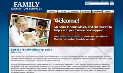 Family Education Services Screenshot
